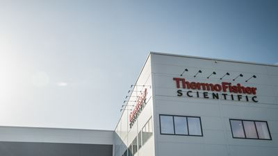 Bild på Thermo Fisher Scientific:s nya lokaler i Arendal.