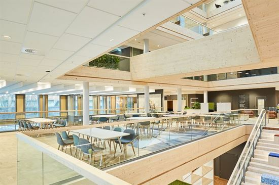 Interior new head office  NCC, Järva Krog
